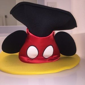 Disney Accessories | Disney Mickey Mouse Hat